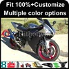 INJECTION MOLDING panels 2002 2003 YZFR1 YZF-R1 2003 2002 black Custom Fairing Fit For yamaha YZF R1 2002 2003