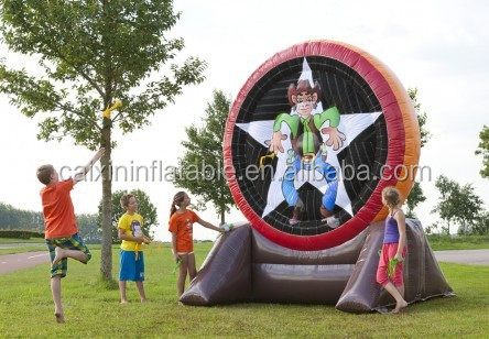 Funny games Inflatable dart,Inflatable shooting games for outdoor events