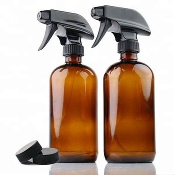 757c343bee36 16 oz. Large size High Quality Empty Amber Glass Spray Bottle with Black  Trigger Sprayer, View amber glass bottle, hongyuan Product Details from  Yiwu ...