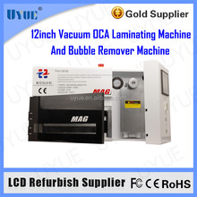 Newest MAG 12 Inch Vacuum OCA Laminator Laminating remove bubble one machine for Touch Screen Refurbish