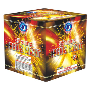 500G 25 shots factory cheap price Russian market great square cake fireworks from China