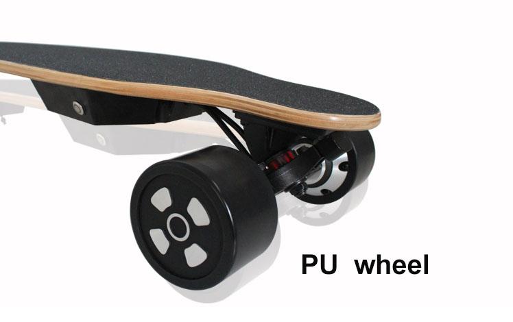 2018 maple barato e plataforma de bambu impulsionou o skate elétrico