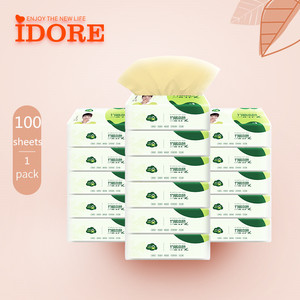 customized bamboo pulp pocket tissue paper tissue with logo