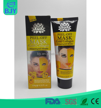 Wholesale Deep Clean Export Melanin Gold Peel Off Facial Mask For Brightening The Complexion