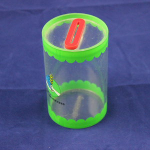 Color Acrylic Coin Donation Box