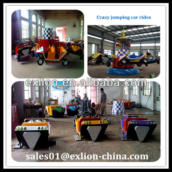 crazy flying car rides for kids with different models for sale