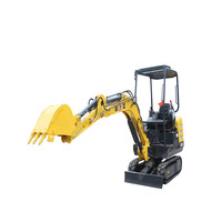 full hydraulic mini excavator 1 ton for sale