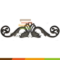 Ornamental iron fence parts suppliers,decorative iron work