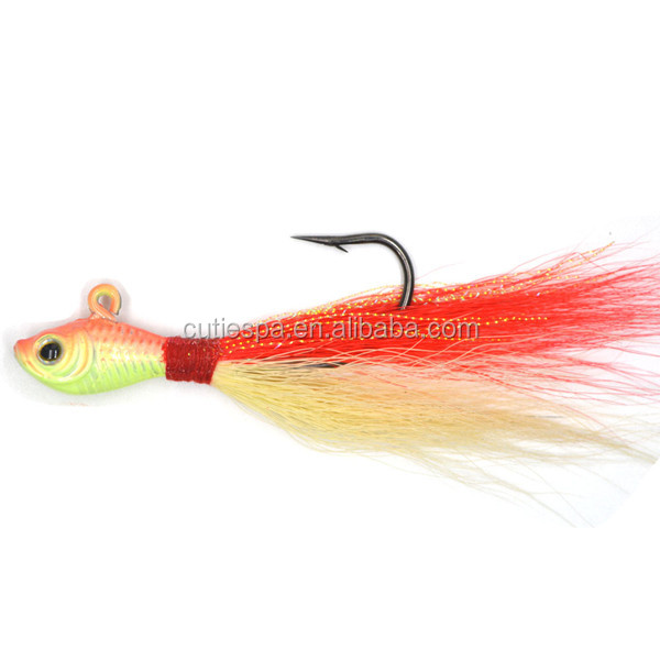 Wholesale OEM Manufacturer for <strong>fishing</strong> <strong>Fishing</strong> lures fish bucktail jig bucktail jig