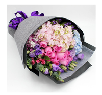 Linen Flower Wrapping Packaging Roll Flowers Paper Gift Wrapping Multi Color Florist Wrapping Paper Flower Bouquet