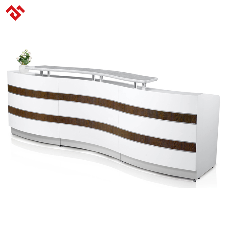 custom hotel and restaurant reception desk