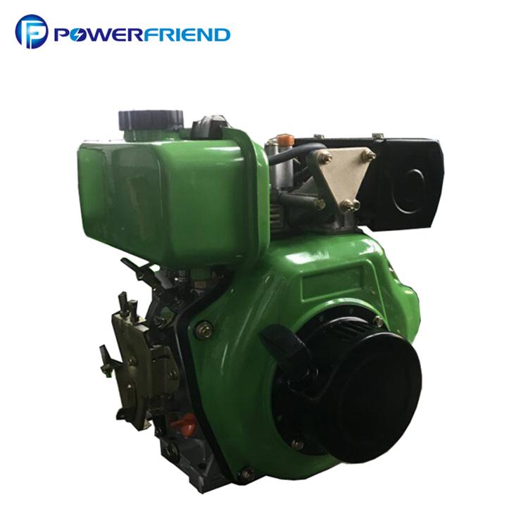 Niedrigen kraftstoff verbrauch elektrische starten air gekühlt lister petter diesel motor 186F