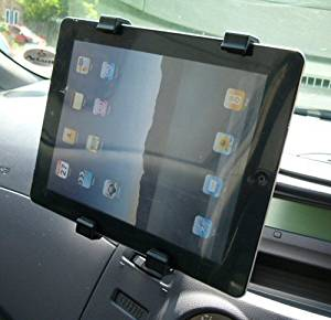 Easy Fit Vehicle Air Vent Mount fits the Apple iPad Tablet PC (sku 10902)