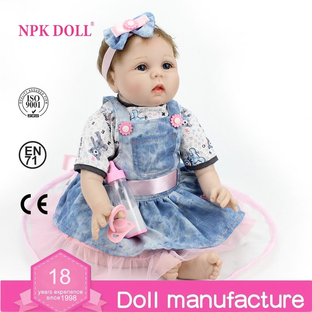 """Pursue 22""""/55cm Realistic Newborn Reborn Baby Dolls Boys"""