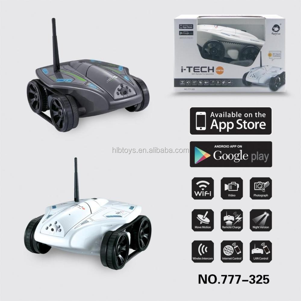 New design WIFI rc car with 0.3MP camera Support IOS phone or Android