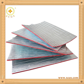 Heat resistant insulation board fire retardant foam for Fire resistant insulation material
