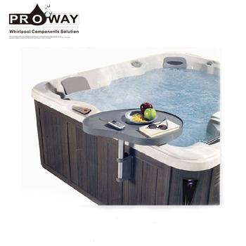 spa caddy hot tub side table spa side tray rh alibaba com hot tub side table ideas hot tub side table diy
