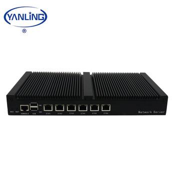 Yanling Fanless Mini Server 1u Rackmount Intel 1037u Dual Core 6 Lan Cloud  Computer For Remote Management - Buy Cloud Computer,Cheap Mini Server
