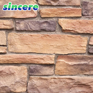 china factory artificial rock slate wall tiles cheap cultured stone
