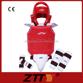 newest WTF approved PU taekwondo protective gear