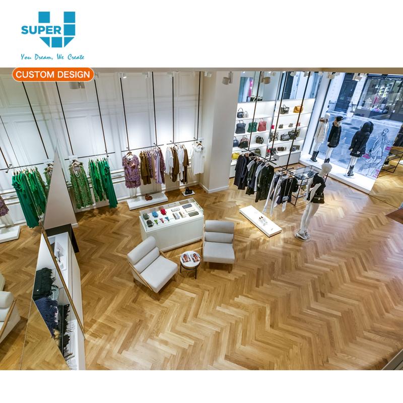 Retail Womens Clothes Shops Ladies Fashion Stores Display Furniture Design 66b349167