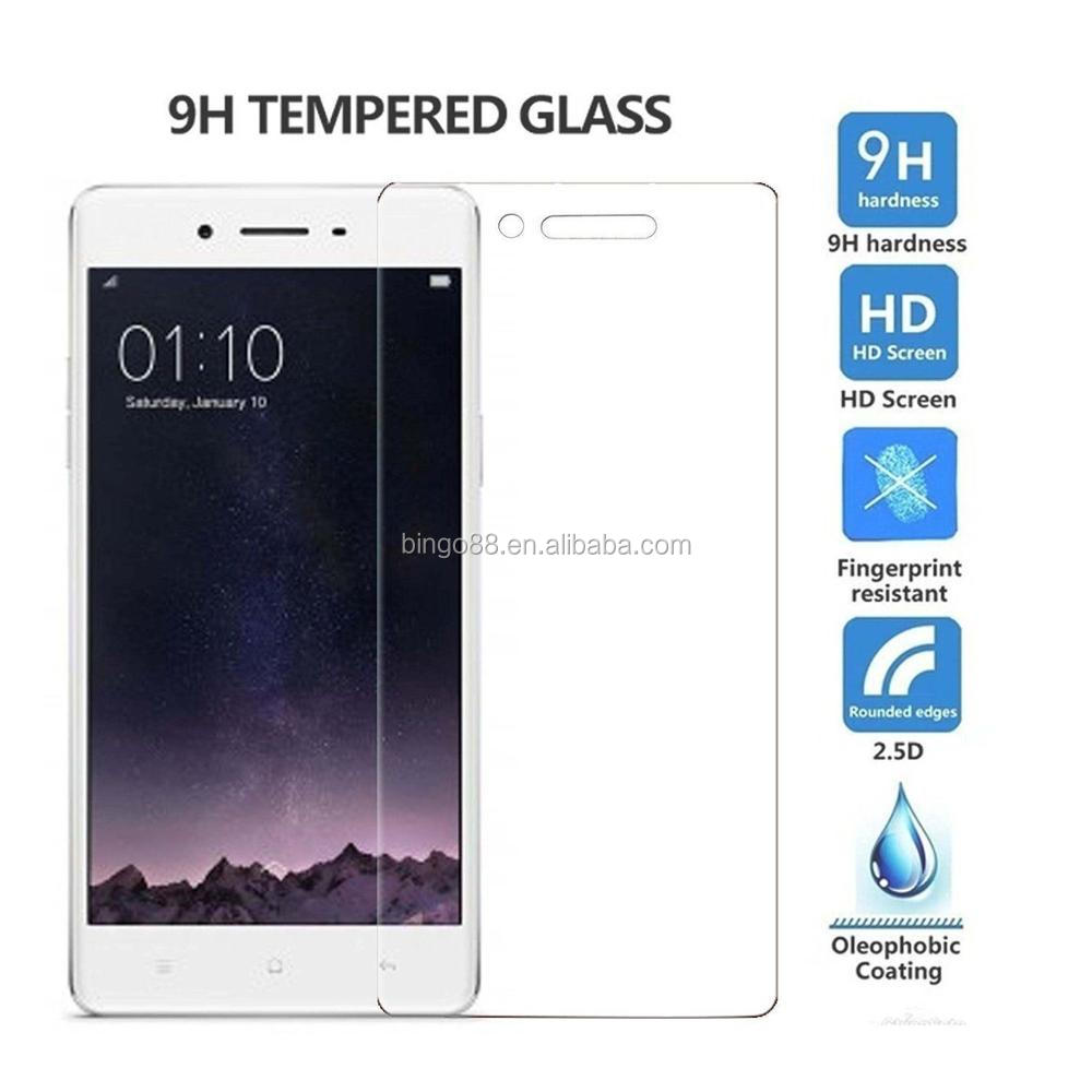 9h Tempered Glass Screen Protector For Oppo A37screen A37 Cover F1s 25