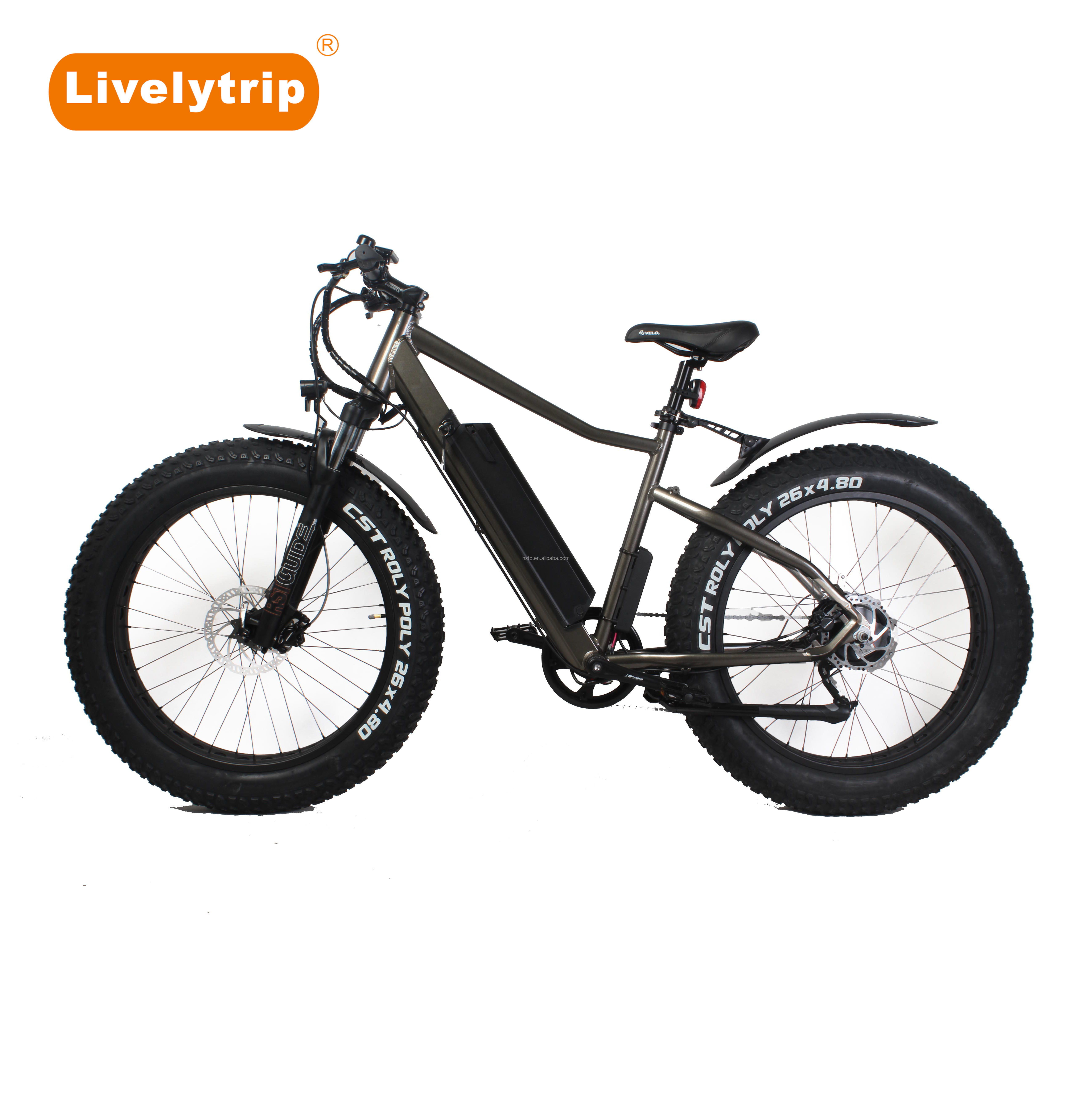 Chinese Low Price Free Style Electric Beach Cruiser Bicycle E Bike For Sale