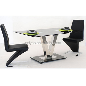 Modern Design New Center Tableglass Top Dining Tablelatest Office