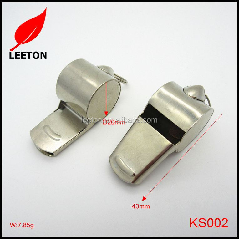 China export stainless steel metal loud Military whistle