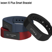 Original Iwown I5 Plus Bluetooth 4.0 Sports Monitor Smart Bracelet IP67 Waterproof Smartband 0.91″ OLED Wearable Device Watch