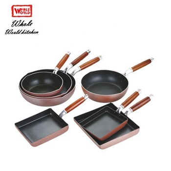 White ceramic coating kitchen cookware nonstick induction cookware set