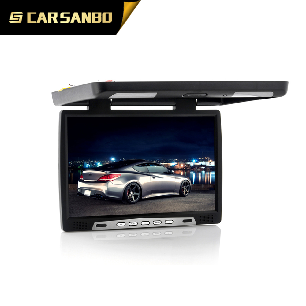 17inch Roof mount monitor with IR transmitter with good quality for cars