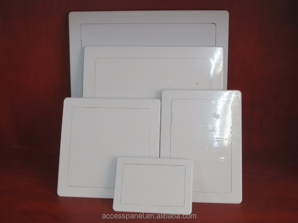 Plastic sheet ceiling/building access panel