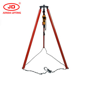 firefighting equipment durable long life time 1000kg industrial lifting tool rescue tripod