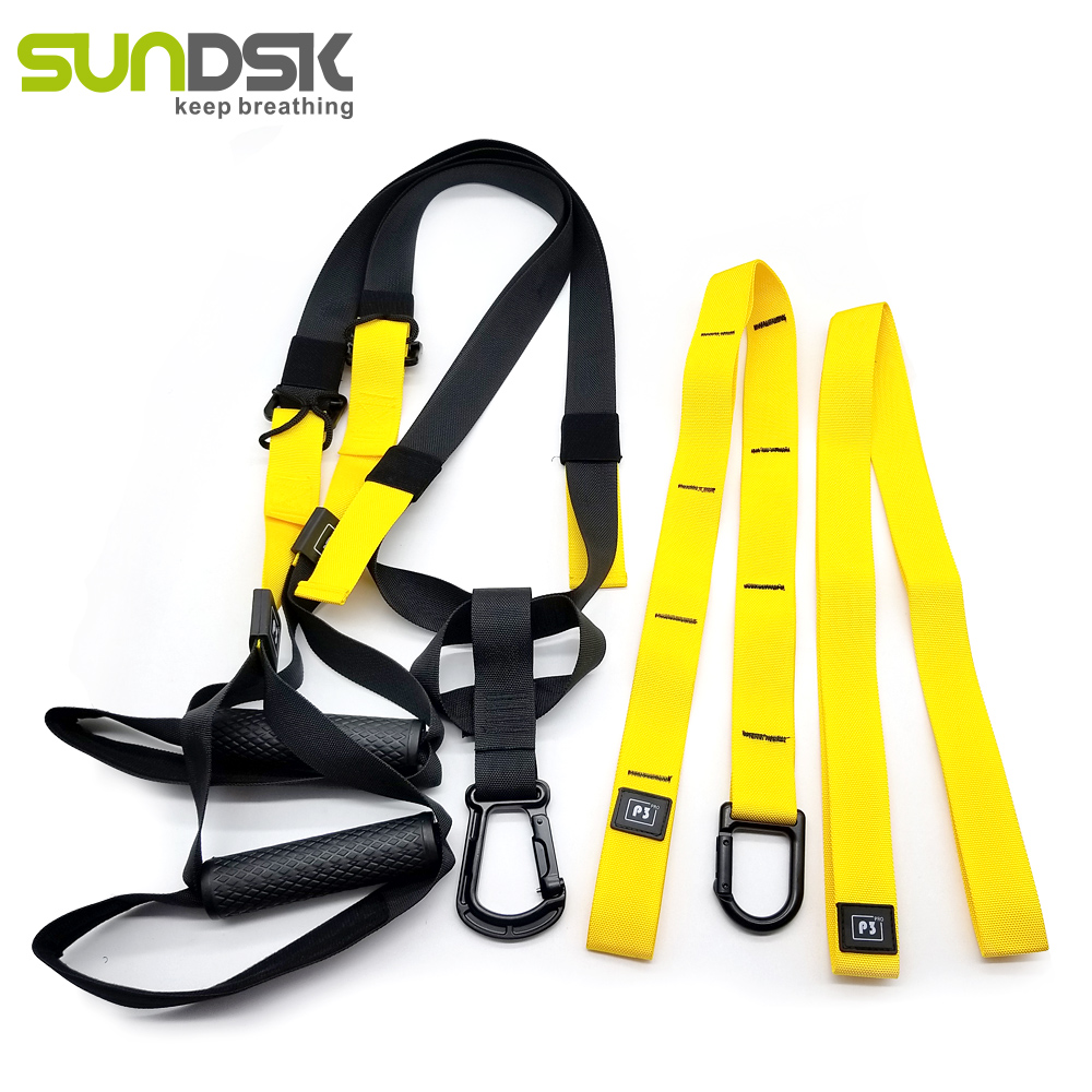 Suspension body training strap hanging pull rope resistance bands