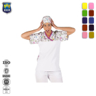 Housekeeping staff dress uniform Ladies Hotel Work Tunic Tops