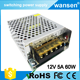 Mini size 12v 5a 60w S-60-12 ac to dc 110V/220V Switching Power Supply CCTV power supply with CE ROHS approved