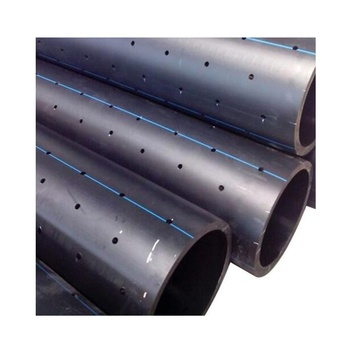 2 inch perforated drain pipe hdpe pipe for drainage water supply