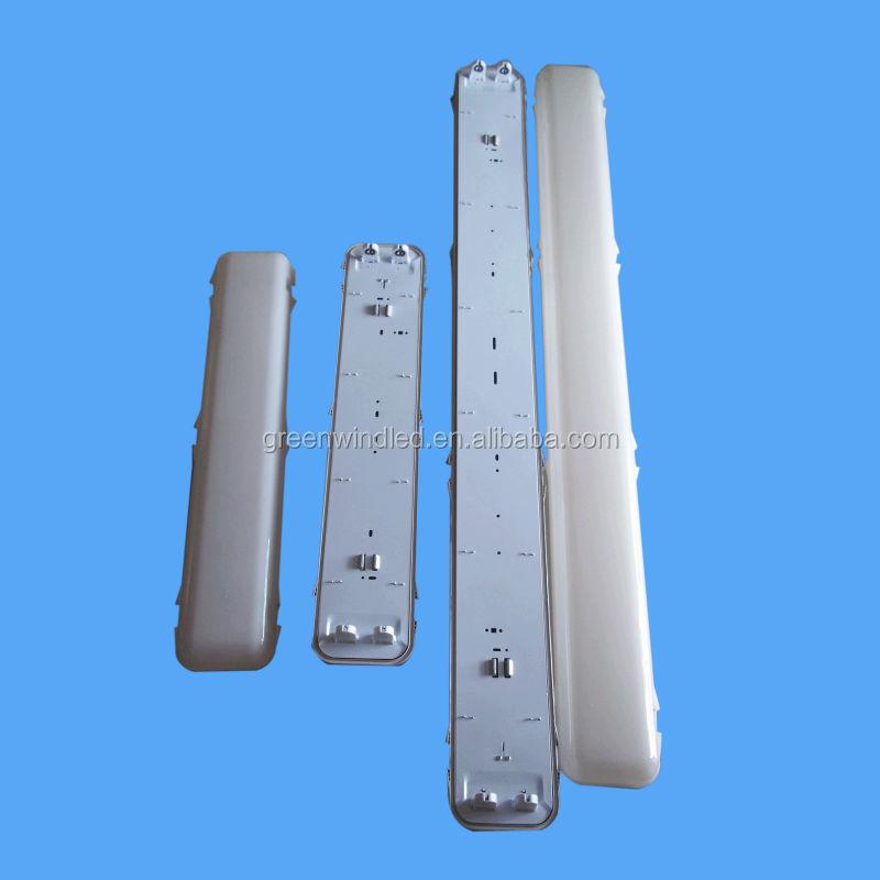 1*18w 2*18w 1*36w 2*36w Waterproof Fluorescent Light Fixture Parts ...