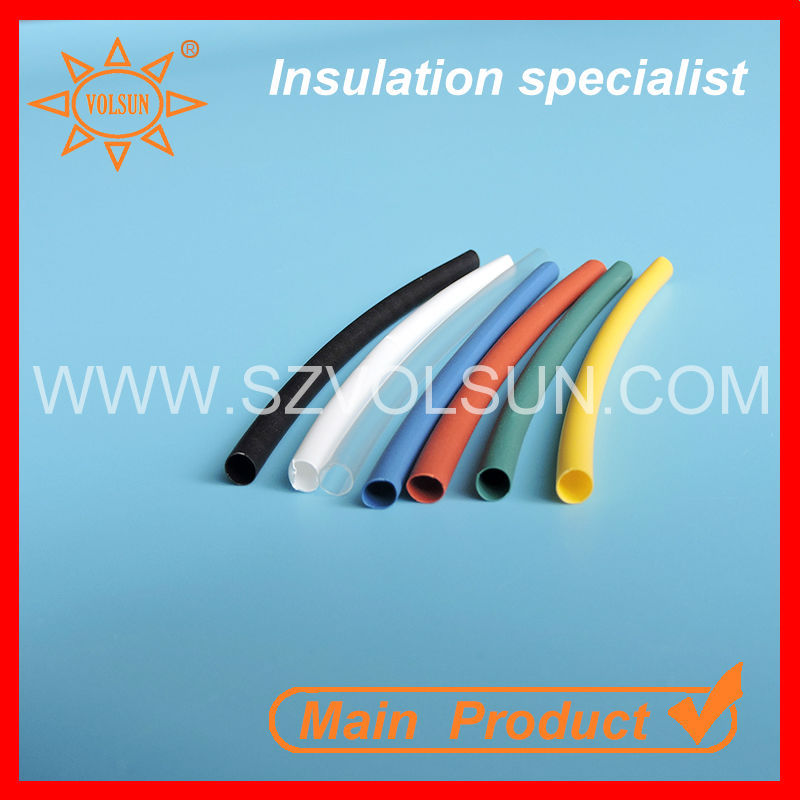 PE Single Wall Heat Shrink Sleeve Pipe