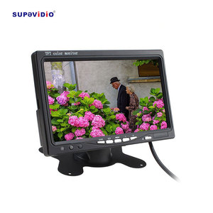Factory Price 7 Tft Lcd Color Quad Monitor Top Quality Inch Car Display For Truck