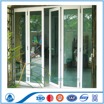Aluminum Partition Door With Grill Glass Design Buy Safety Door