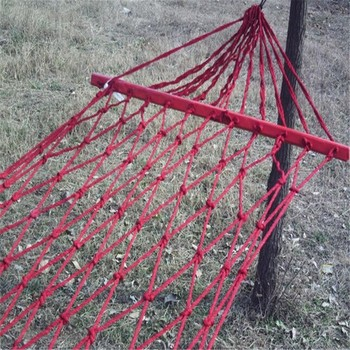 Mini Nylon String Bag Hammock Rattan Swing Chair Rope Hammocks For