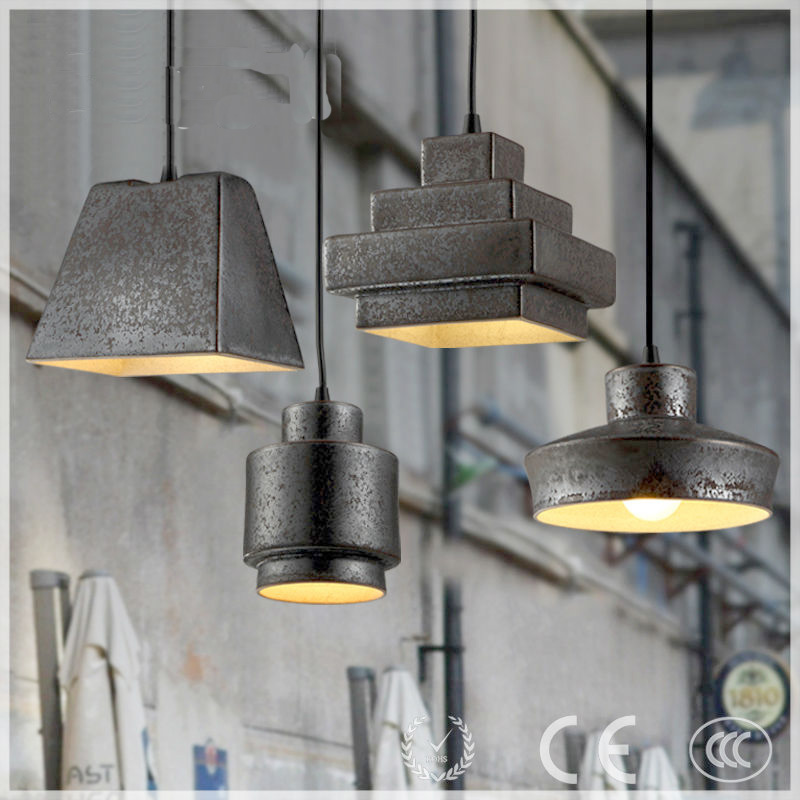 Loft retro restaurant rust water pip industrial country pub lighting lamps conduit droplight
