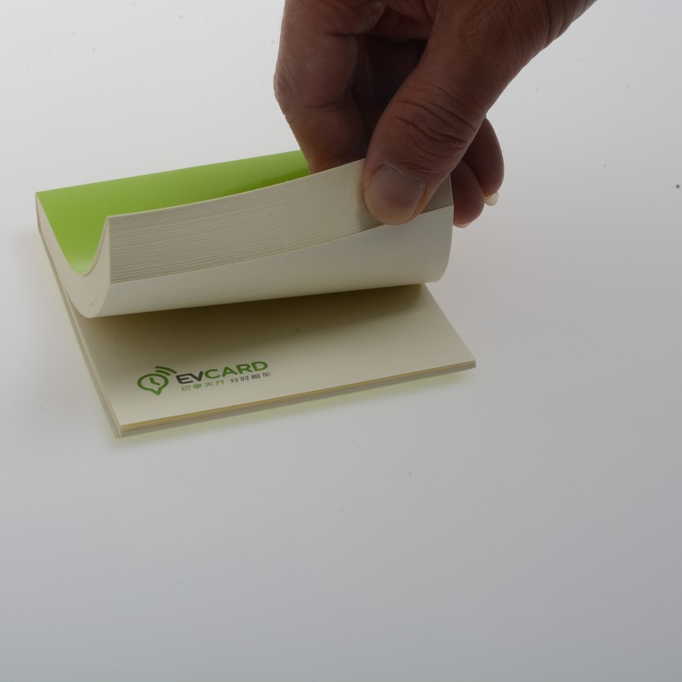 Hot Custom Verkoop Promotionele Sticky Memo Notes met Logo