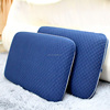 hot sale bedroom sleeping neck massage plush gel memory foam pillow