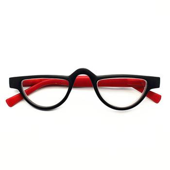 98b58fa4e7d Fashion Small Cat Eye Reading Glasses Women Lightweight Presbyopic Eyeglasses  for Reading Retro Red Blue Orangge