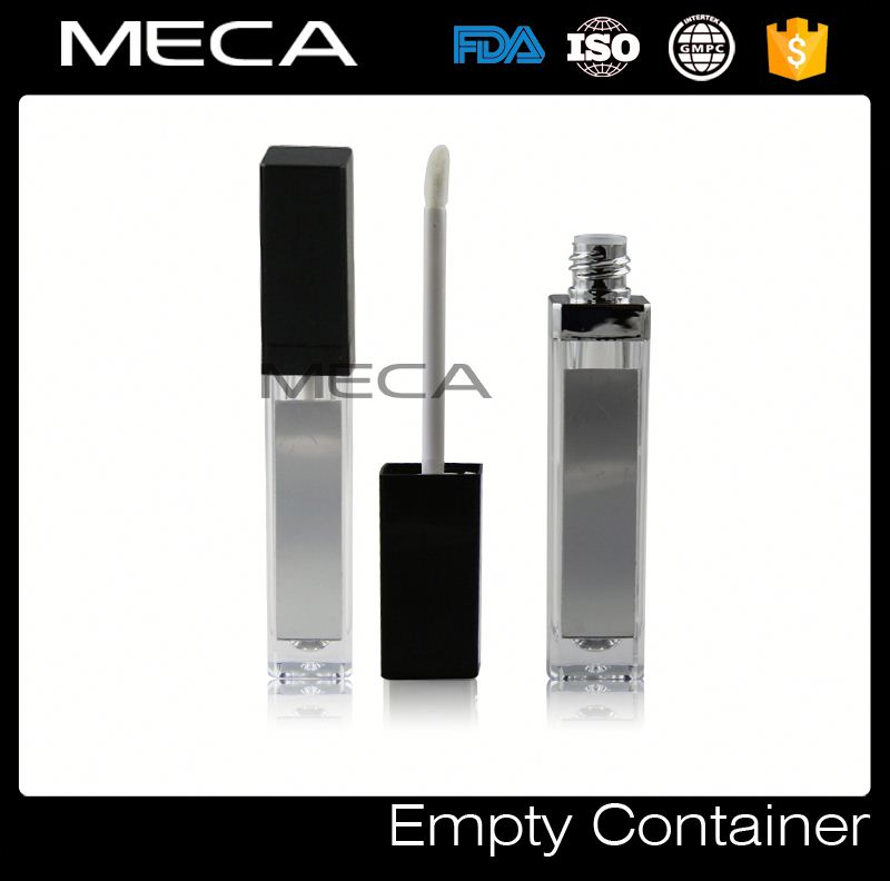 empty makeup containers LED Lip Gloss Packaging