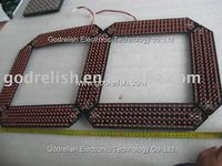 Plastic led display panel price with great price