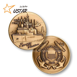 Superior Quality Customized Engraved 3d Souvenir Commemorative Metal Coins